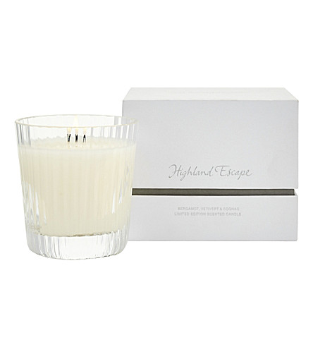 THE WHITE COMPANY Highland escape candle 150g (No+colour
