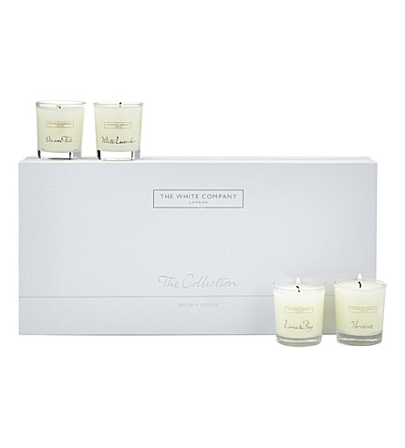 THE WHITE COMPANY The Collection Votives (No+colour