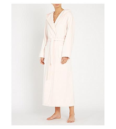 THE WHITE COMPANY - Hooded velour dressing robe | Selfridges.com