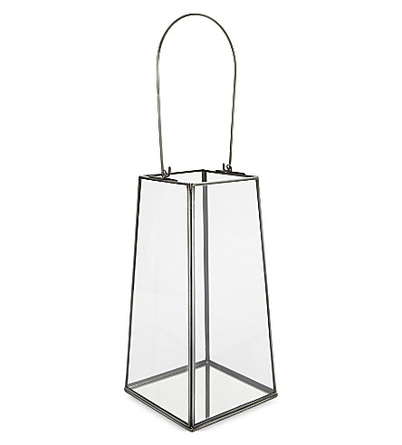 THE WHITE COMPANY Skye large lantern (Grey
