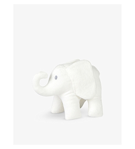 THE LITTLE WHITE COMPANY Indy Elephant soft toy