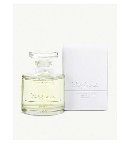 THE WHITE COMPANY White Lavender bath foam 200ml (No+colour