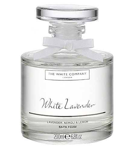 THE WHITE COMPANY White Lavender bath foam (No+colour