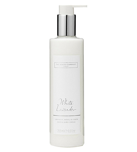 THE WHITE COMPANY White lavender hand and body cream 250ml (No+colour