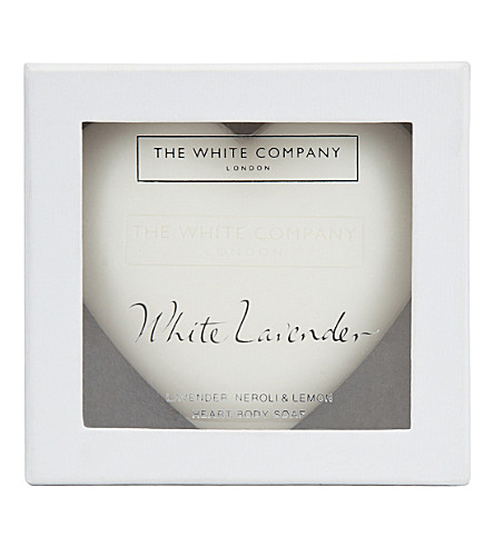 THE WHITE COMPANY Heart-shaped lavender soap (No+colour