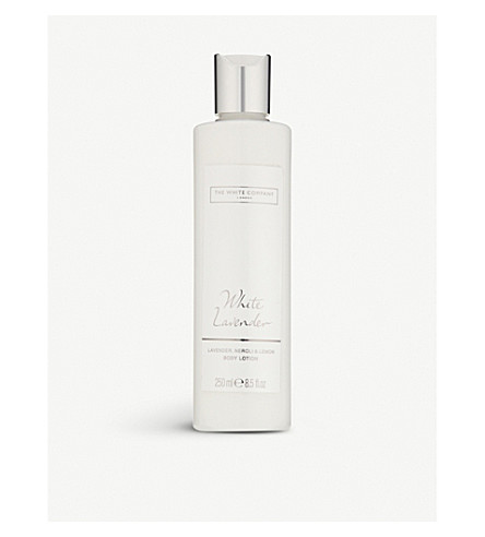 THE WHITE COMPANY White lavender body lotion