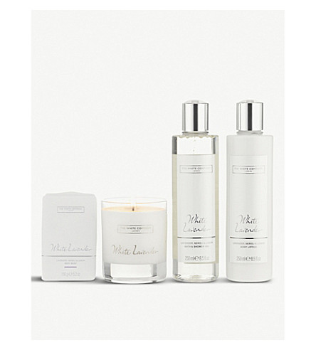 THE WHITE COMPANY White Lavender gift set