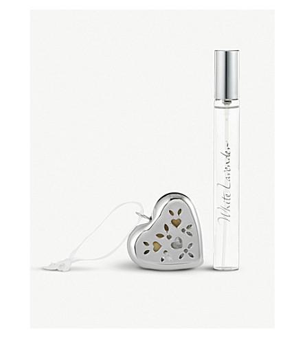 THE WHITE COMPANY White Lavender summer pomander gift set (No+colour