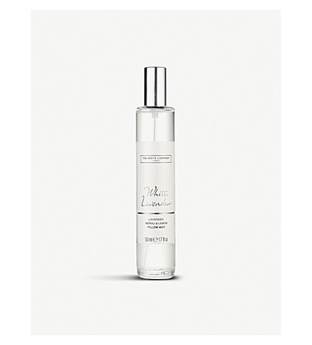 THE WHITE COMPANY White lavender pillow mist 50ml