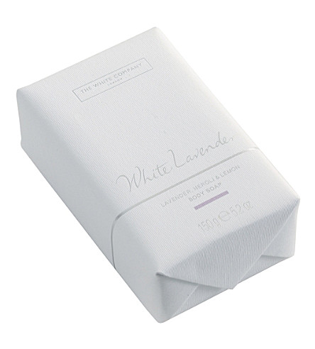 THE WHITE COMPANY White lavender body soap (No+colour