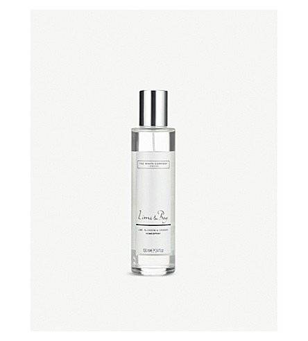 THE WHITE COMPANY Lime and Bay home spray 100ml (No+colour