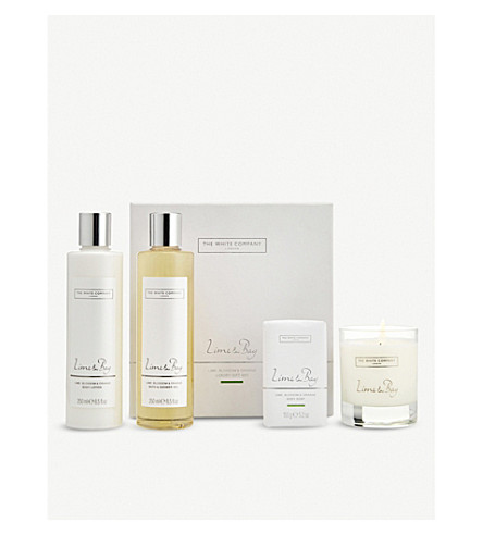 THE WHITE COMPANY Lime & Bay luxury gift set (No+colour
