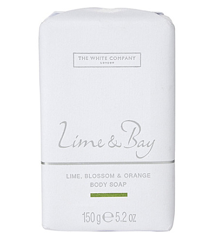 THE WHITE COMPANY Lime & bay soap (No+colour