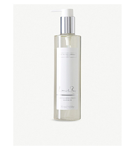 THE WHITE COMPANY Lime & Bay hand wash 250ml (No+colour