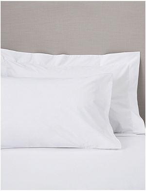 THE WHITE COMPANY Oxford Egyptian Cotton super king pillowcase