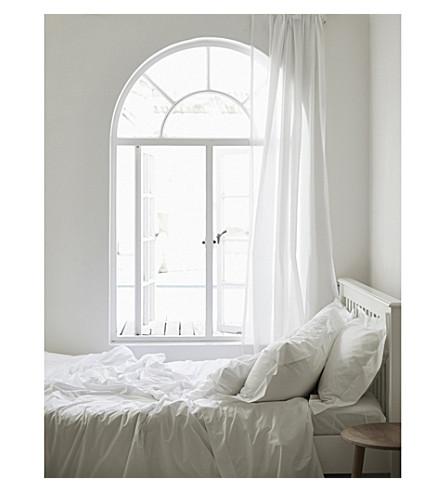 THE WHITE COMPANY Egyptian cotton duvet cover (White