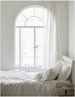 THE WHITE COMPANY Egyptian cotton duvet cover