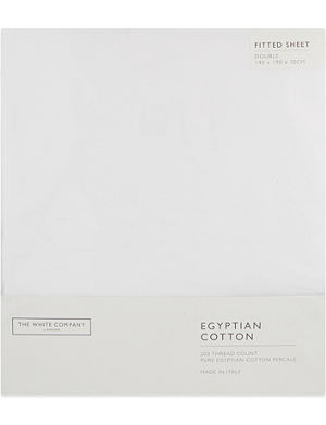 THE WHITE COMPANY Egyptian cotton fitted sheet