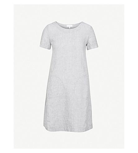 THE WHITE COMPANY Linen swing dress (Eucalyptus