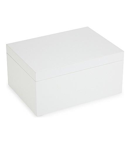 THE WHITE COMPANY 漆珠宝盒 (白色