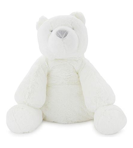 THE LITTLE WHITE COMPANY Lumi polar bear large toy (White