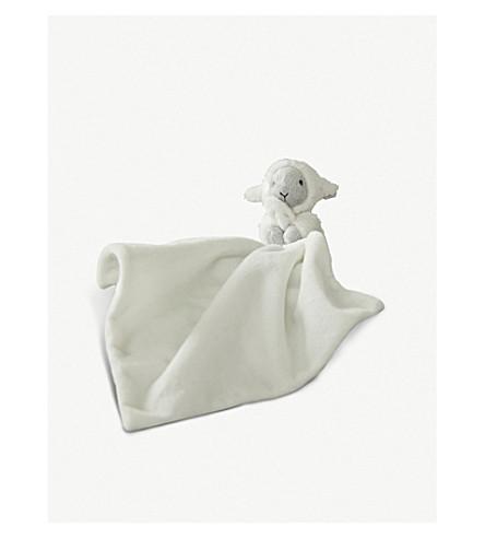 THE LITTLE WHITE COMPANY Little lamb comforter (Grey