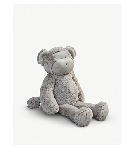 THE LITTLE WHITE COMPANY Marcelle Monkey soft toy 35cm (Neutral