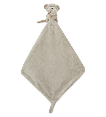 THE LITTLE WHITE COMPANY 猴棉被 14厘米 (棕色
