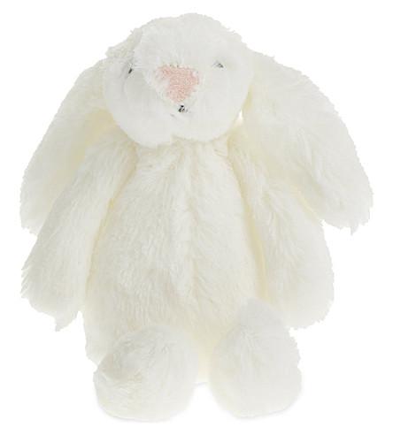 THE LITTLE WHITE COMPANY 迷你害羞小兔子 6cm (白色