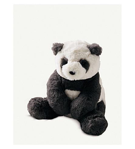 THE LITTLE WHITE COMPANY Jellycat Panda Cub medium toy (White/black
