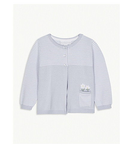 THE LITTLE WHITE COMPANY Nautical check cotton pyjamas 1-6 years (Multi