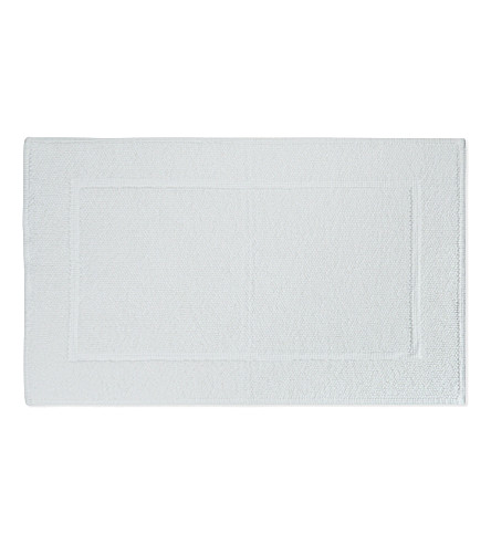 THE WHITE COMPANY Nieve bath mat medium (White