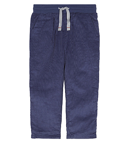 THE LITTLE WHITE COMPANY Corduroy trousers 1-6 years (Navy