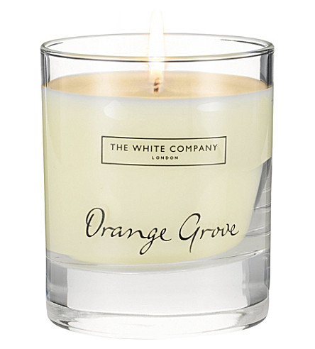 THE WHITE COMPANY Orange Grove scented candle 140g (No+colour