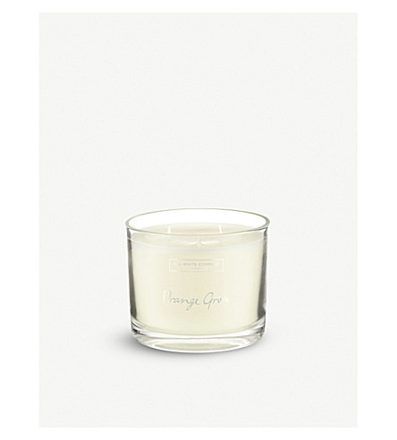 THE WHITE COMPANY Orange grove large candle