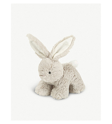 THE LITTLE WHITE COMPANY Pixie bunny plush toy (Natural