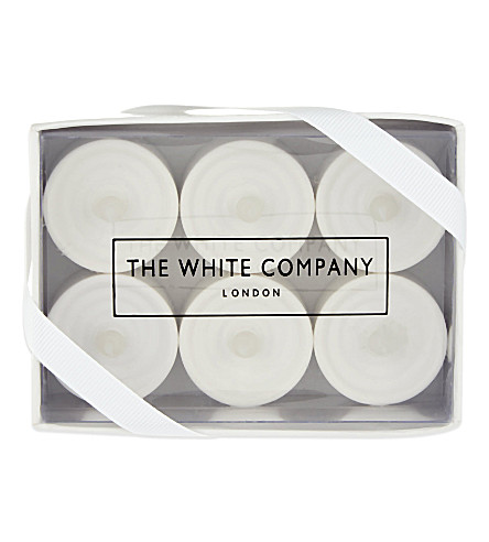 THE WHITE COMPANY Battery tealights (No+colour
