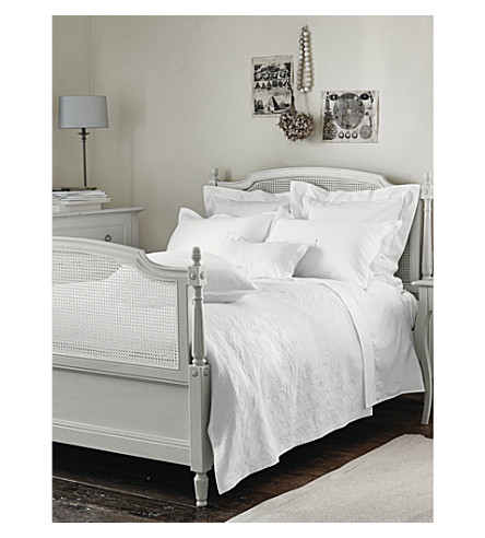 THE WHITE COMPANY Adeline cotton percale duvet cover (White