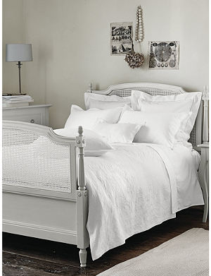 THE WHITE COMPANY Adeline cotton percale duvet cover