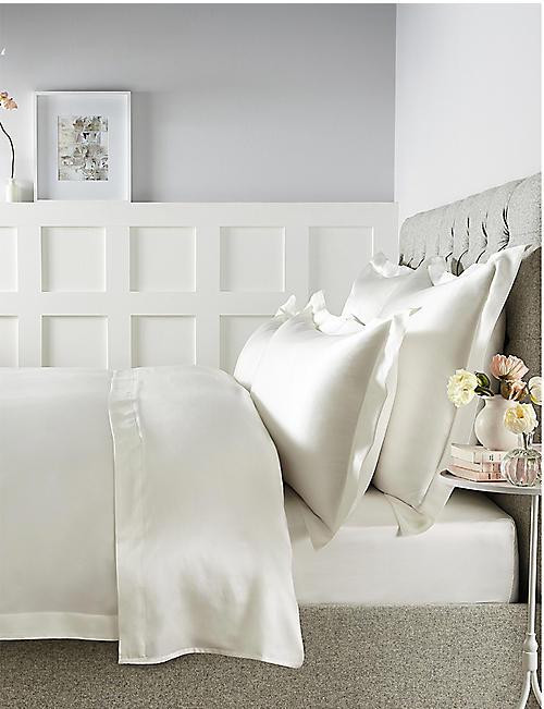 THE WHITE COMPANY Silk pillowcase 75cm x 50cm