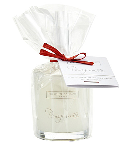 THE WHITE COMPANY Pomegranate votive candle 75g (No+colour