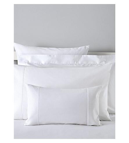 THE WHITE COMPANY Petersham Oxford pillowcase (White