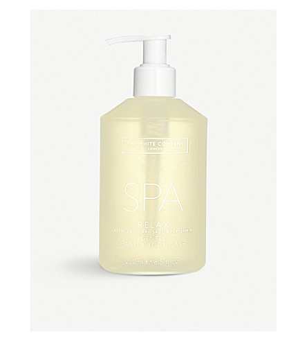 THE WHITE COMPANY Spa relax hand & body wash 250ml (No+colour