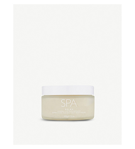 THE WHITE COMPANY Relax Super Glow Body Polish 200g (No+colour