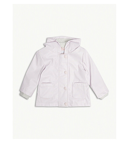 THE LITTLE WHITE COMPANY Rainy play jacket 0-24 months (Pink