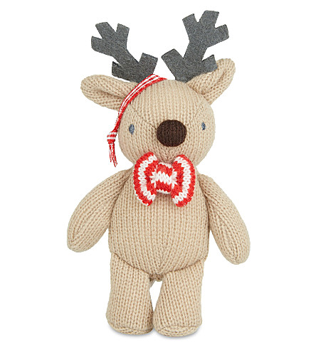 THE LITTLE WHITE COMPANY Reindeer decoration (Brown