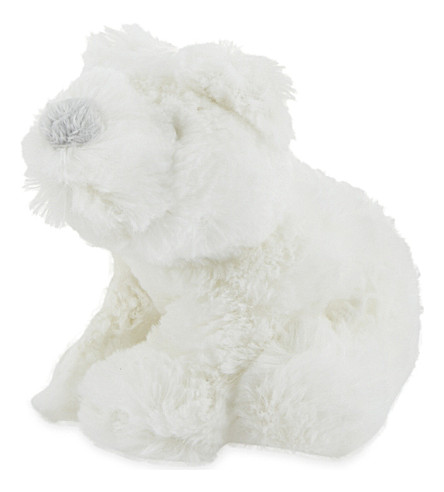 THE LITTLE WHITE COMPANY Mini Ralph Polar Bear soft toy (White