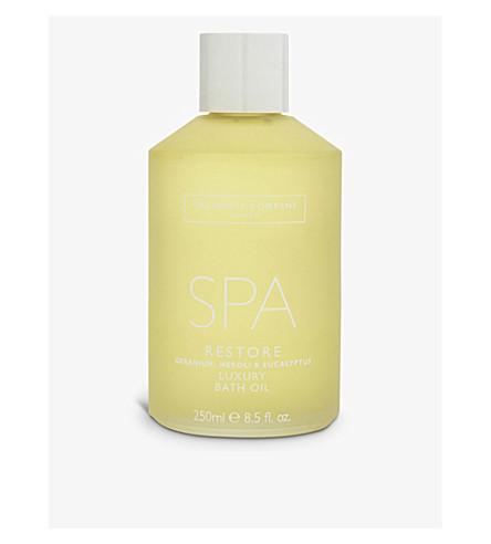 THE WHITE COMPANY Spa Restore luxury bath oil 250ml (No+colour