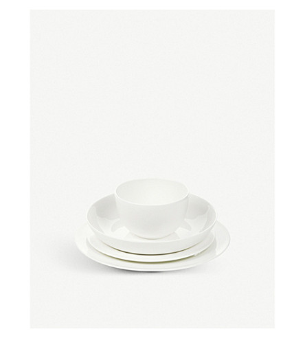 THE WHITE COMPANY Symons bone china cereal bowl 13.5cm (White
