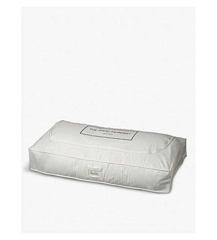 THE WHITE COMPANY Cotton under bed storage bag (White